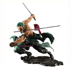 ONE PIECE -  FIGURINE DE RORONOA ZORO (NEO-MAXIMUM) 15TH ANNIVERSARY - EXCELLENT MODEL LIMITED -  PORTRAIT OF PIRATES MAXIMUM]